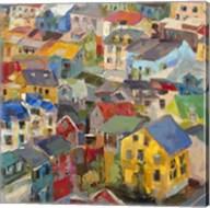 Reykjavik Rooftops Fine-Art Print