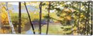 Autumn Lake IV Fine-Art Print