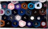 Close-up of Fabric Rolls in Akasaka District of Tokyo, Japan Fine-Art Print