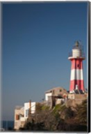 Israel, Tel Aviv, Jaffa, Jaffa Old Port, lighthouse Fine-Art Print