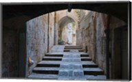 Ancient street, old town, Jerusalem, Israel Fine-Art Print