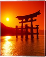 O-Torii Gate, Itsukushima Shrine, Miyajima, Japan Fine-Art Print