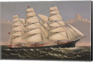 "Clipper Ship ""Three Brothers"", ca. 1875 Fine-Art Print"