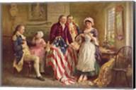 Betsy Ross, 1777 Fine-Art Print