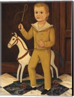 Boy with Horse Fine-Art Print