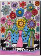 Flower Girls Fine-Art Print