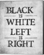 Black is White Fine-Art Print
