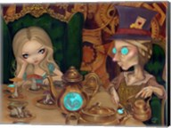 Alice and the Mad Hatter Fine-Art Print