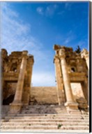 Propilaeum of the Temple of Artemis, Jerash, Gerasa, Jordan Fine-Art Print