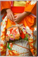 Meriji Shrin, Shichigosan Festival, Harajuku, Tokyo, Japan Fine-Art Print