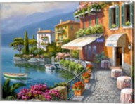 Seaside Bistro Cafe Fine-Art Print