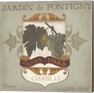 Vintage Wine Labels I Fine-Art Print