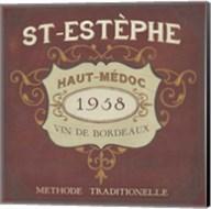 Vintage Wine Labels IV Fine-Art Print