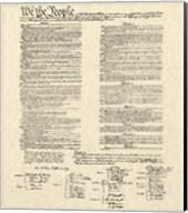 Constitution Document Fine-Art Print