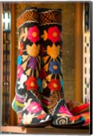 Display of Shoes For Sale at Vendors Booth, Spice Market, Istanbul, Turkey Fine-Art Print