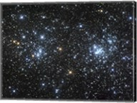 The Double Cluster, NGC 884 and NGC 869 Fine-Art Print