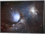 Messier 78, A Reflection Nebula in the Constellation Orion Fine-Art Print