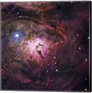 The Hourglass Nebula Fine-Art Print