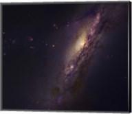Polar Ring Galaxy in Pisces Fine-Art Print