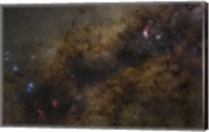 The Galactic Center of the Milky Way Galaxy Fine-Art Print