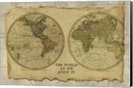 Antique Map I Fine-Art Print