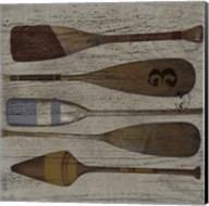 Lake Oars III Fine-Art Print