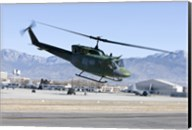 UH-1N Twin Huey near Kirtland Air Force Base, New Mexico Fine-Art Print