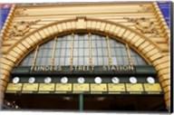 Australia, Melbourne, Flinders Street Train Station Fine-Art Print