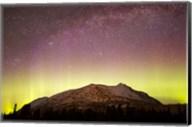 Aurora Borealis, Comet Panstarrs and Milky Way over Yukon, Canada Fine-Art Print