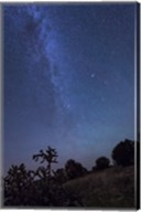 Milky Way Rises Over Kenton, Oklahoma Fine-Art Print
