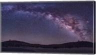 Milky Way Rises the McDonald Observatory near Fort Davis, Texas Fine-Art Print