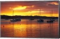Sunset, Russell, Bay of Islands, Northland, New Zealand Fine-Art Print
