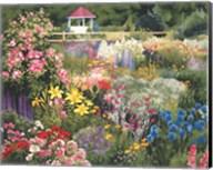 Door County Garden Gazebo Fine-Art Print