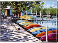 Kayak Dock Fine-Art Print