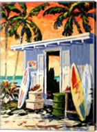 Surf Shop Fine-Art Print