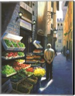 A Stroll in Florence Fine-Art Print