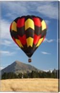 Hot Air Balloon, Wanaka, South Island, New Zealand Fine-Art Print
