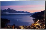 Lake Wakatipu, Queenstown, South Island, New Zealand Fine-Art Print