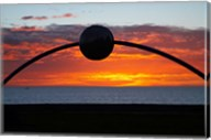 Millennial Arch Ecliptic, Sunset, No Island, New Zealand Fine-Art Print