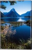 New Zealand, Mitre Peak, Milford Sound, Fiordland NP Fine-Art Print