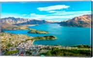 View Towards Queenstown, South Island, New Zealand Fine-Art Print