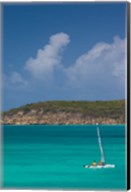 Antigua, Dickenson Bay, Sailboat Fine-Art Print