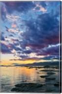 New Zealand, South Island, Kaikoura, South Bay Sunset Fine-Art Print