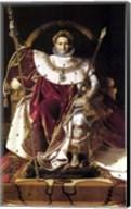Napoleon Bonaparte (restored) Fine-Art Print