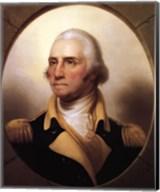 George Washington (digitally restored) Fine-Art Print