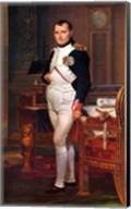 Napoleon Bonaparte (digitally restored) Fine-Art Print