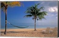 Beach Scene at The Inn at Bahama Bay, Grand Bahama Island, Caribbean Fine-Art Print