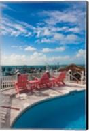 Bahamas, Eleuthera, Harbor Island, Dunmore, Marina Fine-Art Print