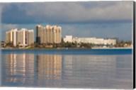 Bahamas, New Providence, Nassau, Resort hotels Fine-Art Print