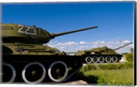 Tanks, Museum of Playa Giron war, Bay of Pigs Cuba Fine-Art Print